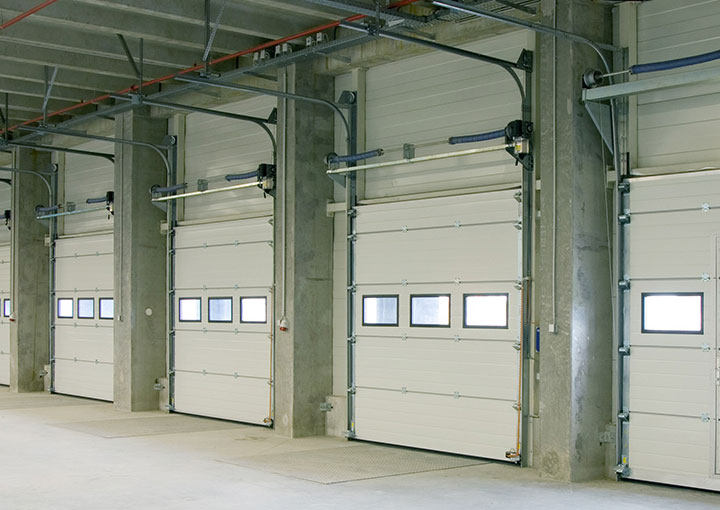commercial garage door installation